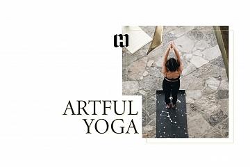 Image: Artful Yoga with Jimmy Urciuoli