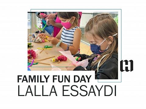 Image: Family Fun Day: Lalla Essaydi