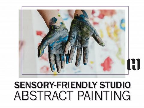 Image: Sensory Friendly Studio: Abstract Painting
