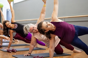 Image: Sunday Barre with Neighborhood Barre Chattanooga – IN-PERSON CLASS
