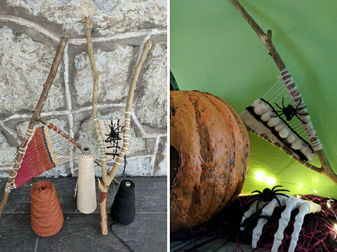 Image: Halloween Branch Weaving – IN-PERSON CLASS