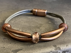 Leather Bracelet Make and Take – IN-PERSON CLASS