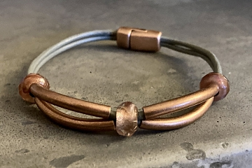 Image: Leather Bracelet Make and Take – IN-PERSON CLASS