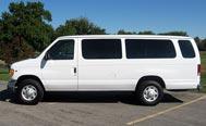 Departure Car Service: Van (Up to 10 Guests)