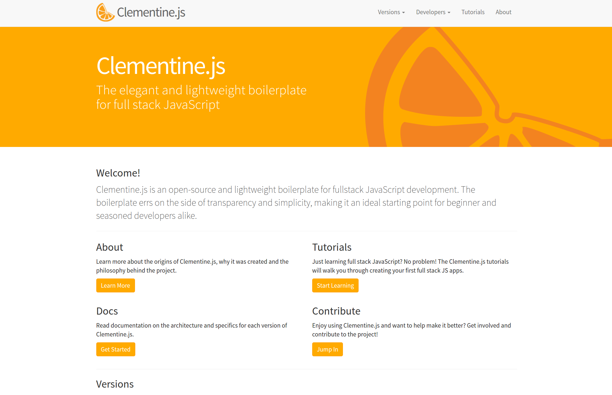 ClementineJS Screenshot
