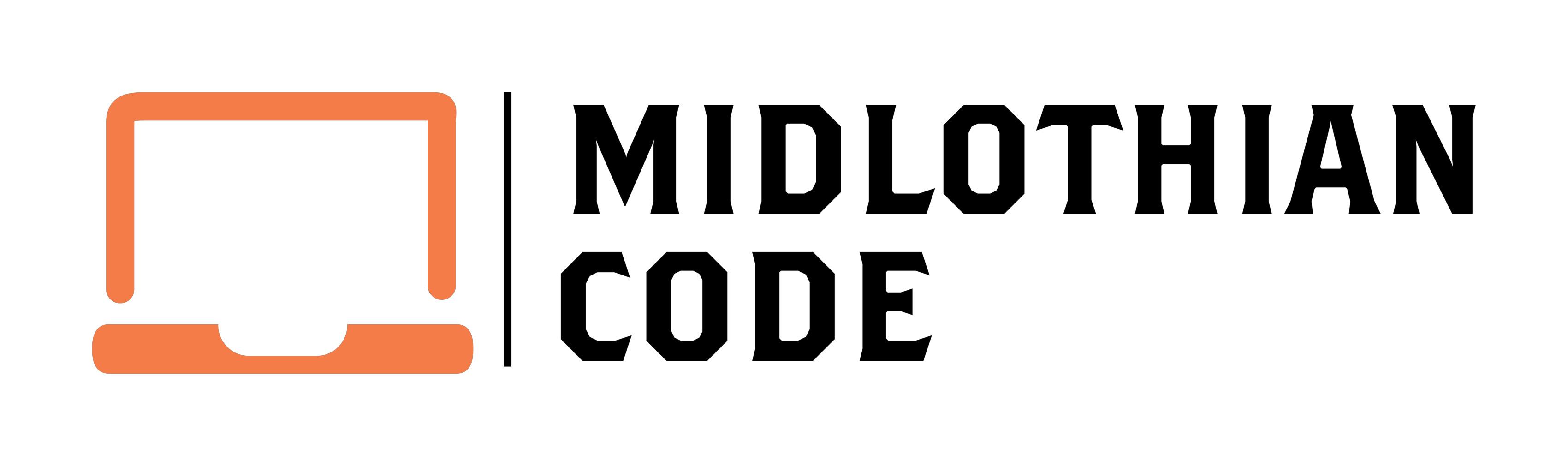Midlothian Code Logo