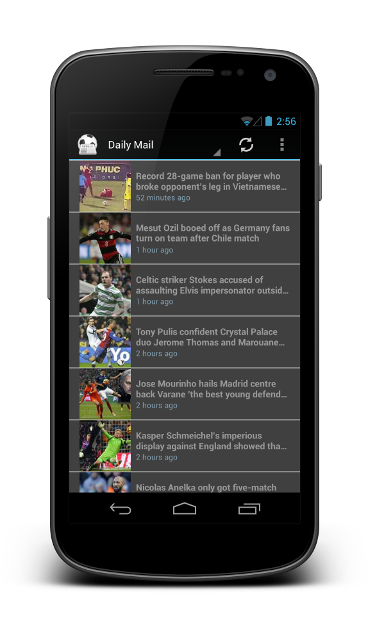 RSS/Atom News Feed | Andromo Support