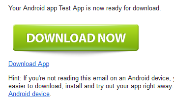 How to install your App onto a device | Andromo Support