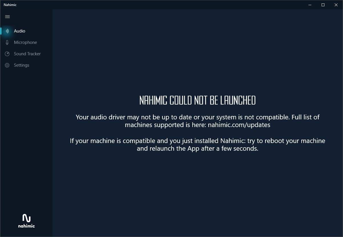 NEW] Nahimic 3: audio driver update | Community help & shares