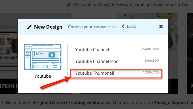 How to create a custom graphic overlay in Youzign and set it