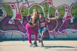 Couple street dance