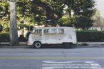 Old rusty van