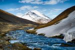 River between the hills
