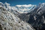 Snow Mountains Sunny