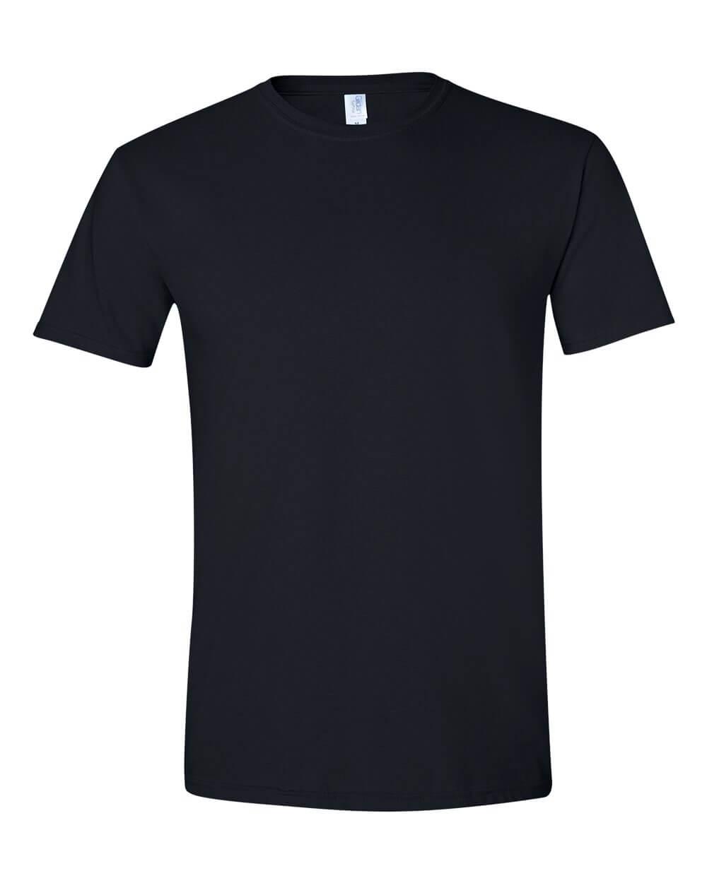 Gildan-Mens-Softstyle-Black-Custom-T-Shirts