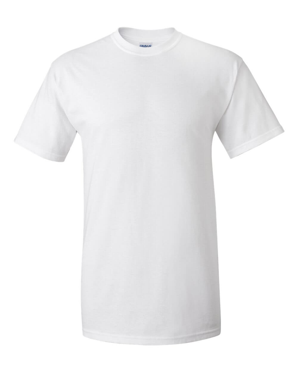 Gildan White Custom T Shirts