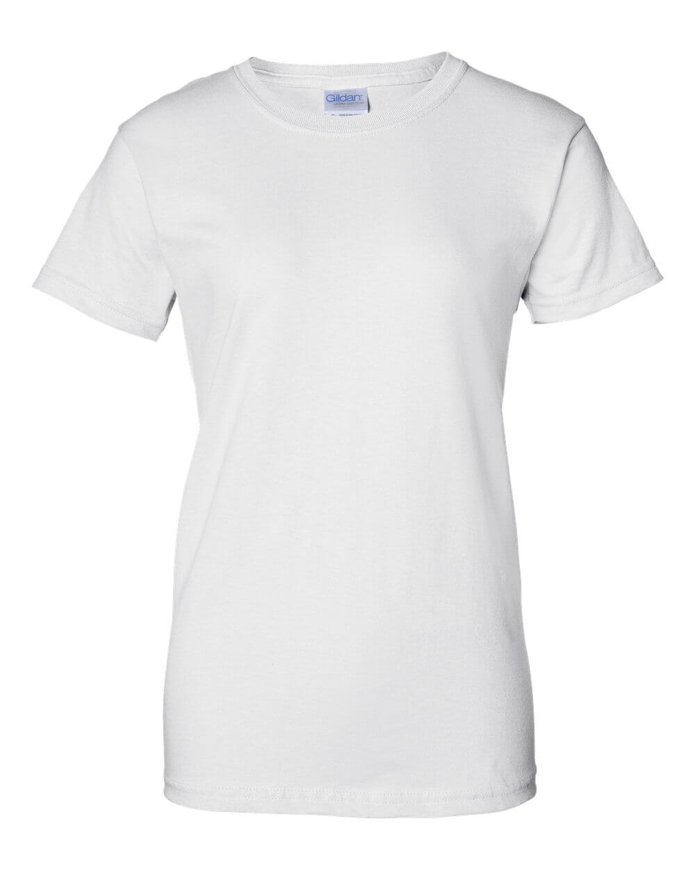 Gildan_2000L_White Custom T Shirts