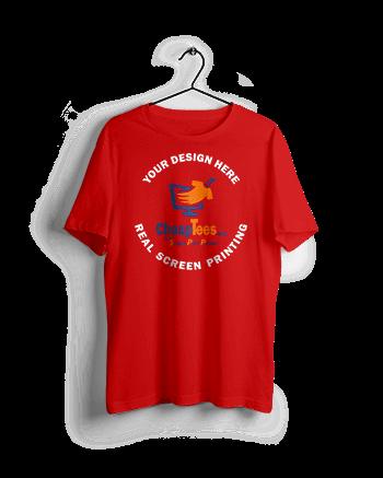 Custom-T-Shirt-Printing-Red