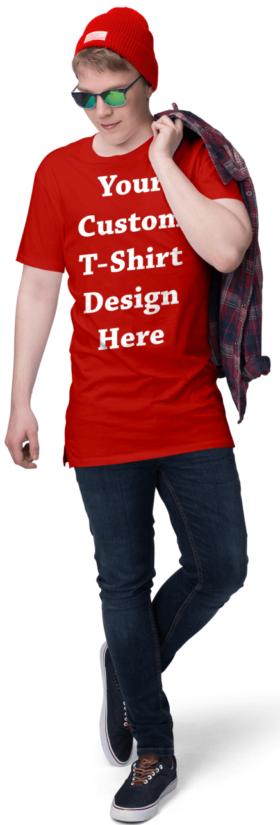Red Custom T Shirts