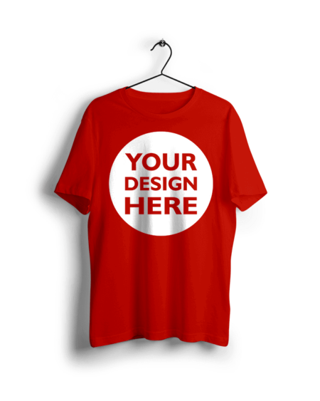 Design Custom Red T Shirts