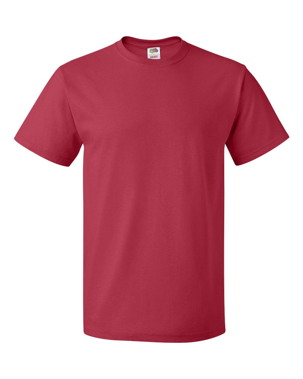 Fruit of the Loom Red Custom T Shirts
