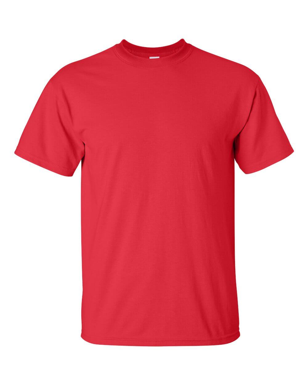Gildan 2000 Red Custom T Shirts