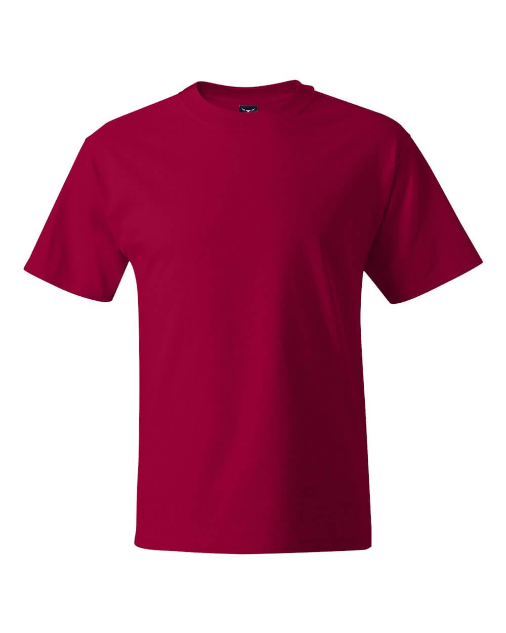 Hanes Beefy T Red Custom T Shirts