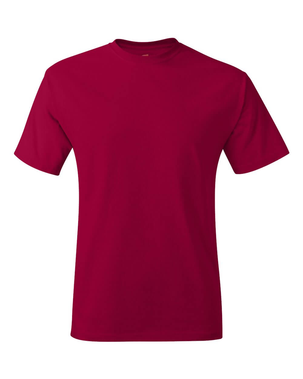 Hanes Comfoertsoft Red Custom T Shirts