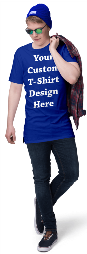 Custom-Royal-Blue-T-Shirts