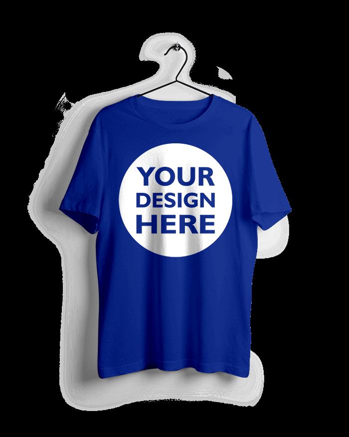 Royal-Blue-Custom-T-Shirts