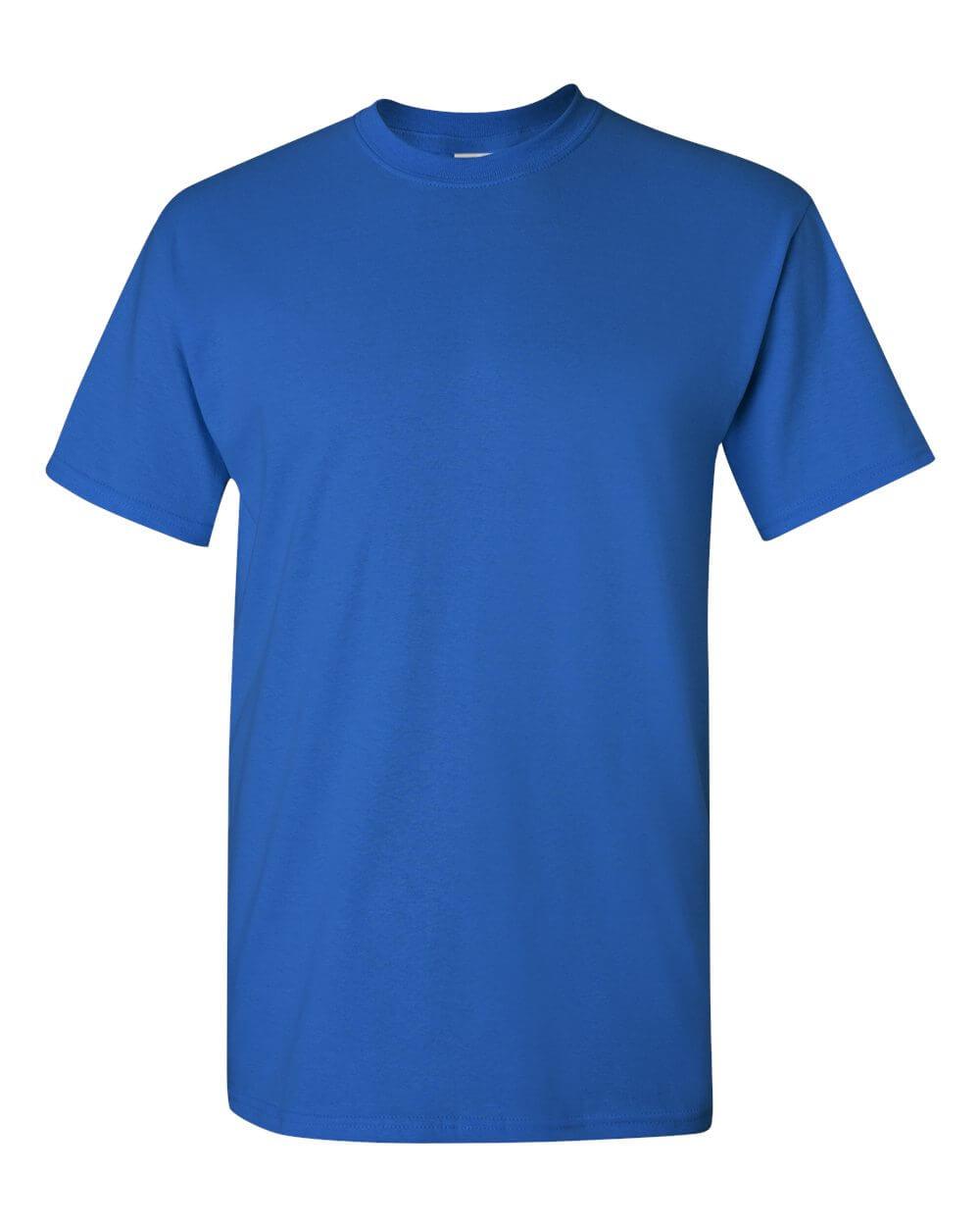 Gildan Royal Blue Custom T Shirts
