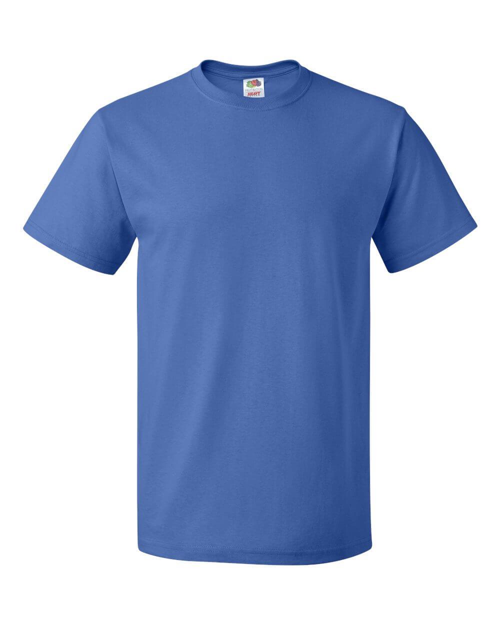 Fruit_of_the_Loom_3930R_Royal Blue Custom T Shirts