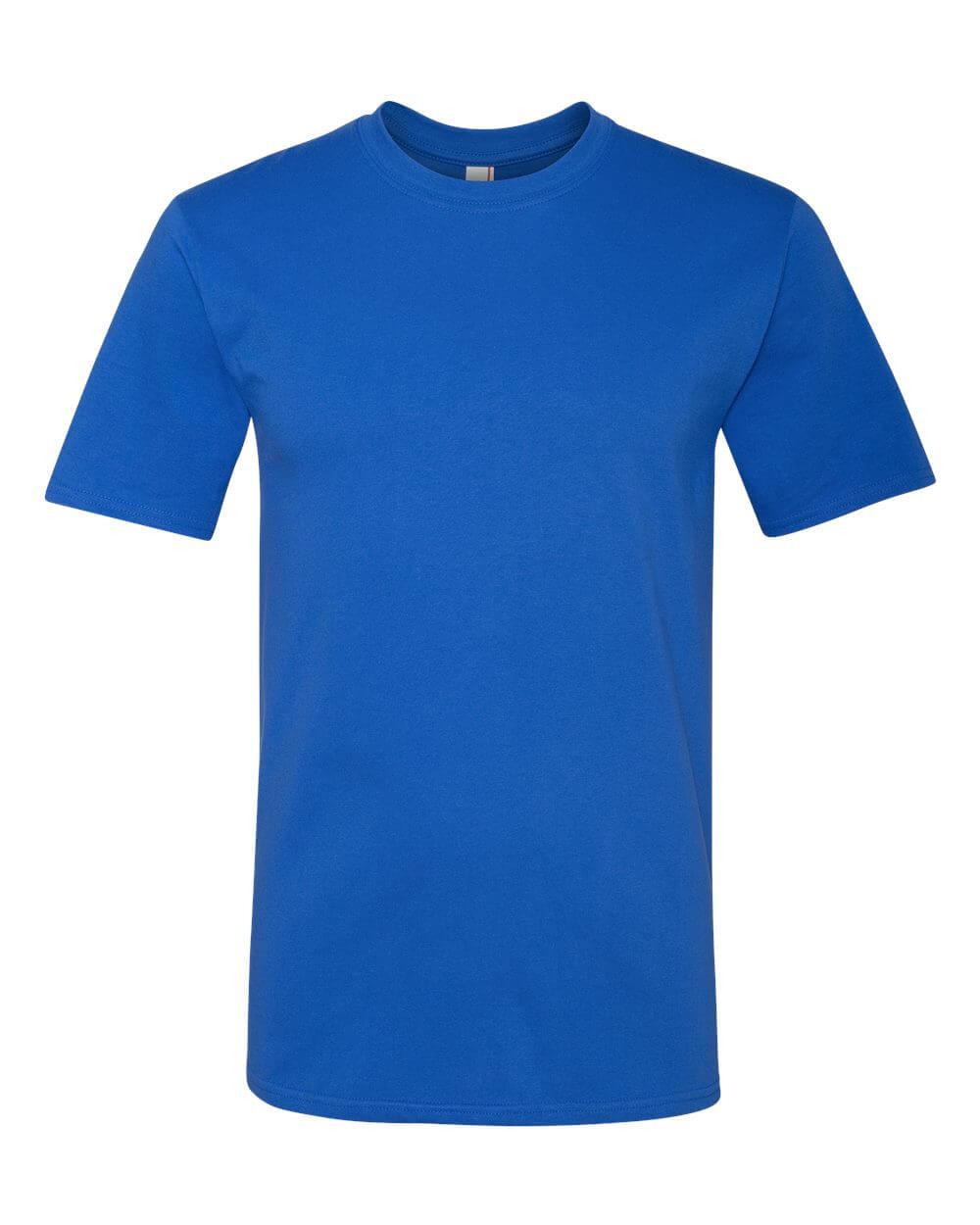 Anvil_780_Royal Blue Custom T Shirts