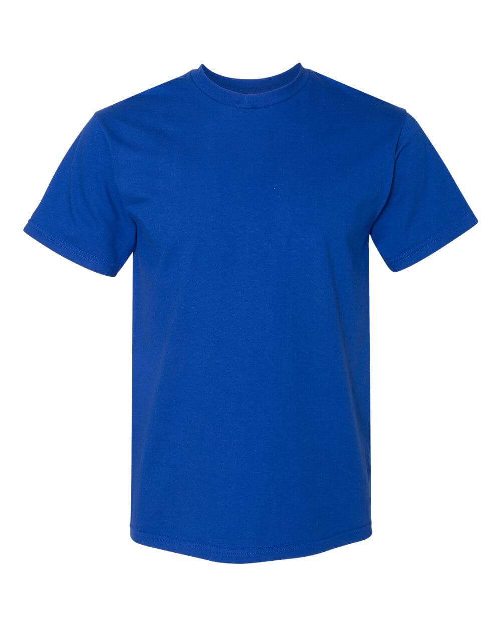 Gildan_H000_Royal Blue Custom T Shirts