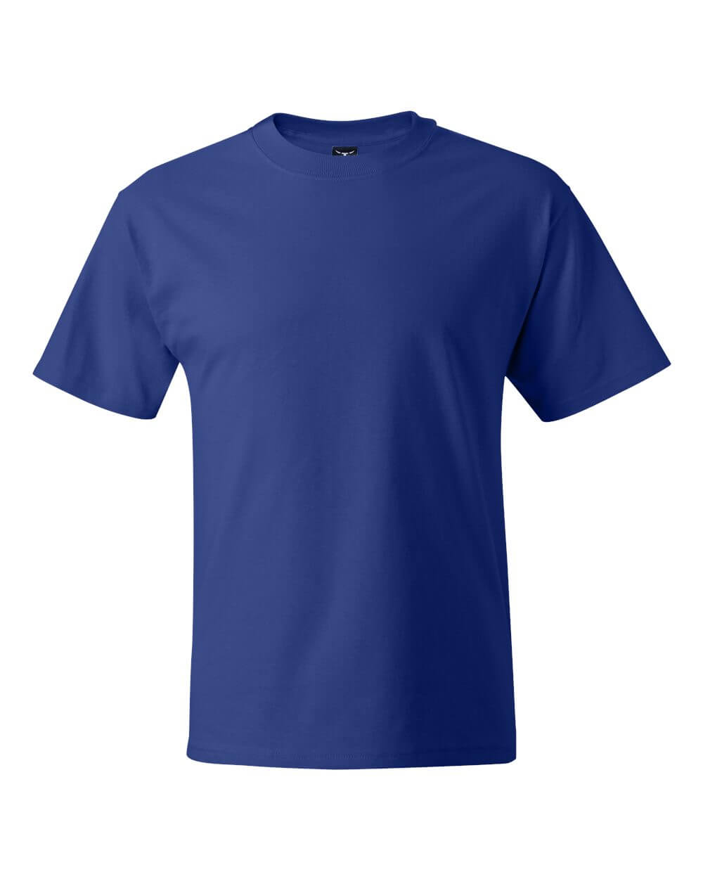 Hanes_5180_Royal Blue Custom T Shirts