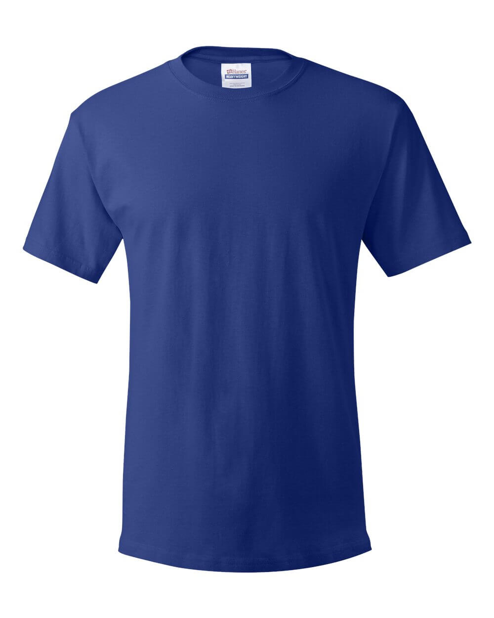Hanes_5280_Deep_Royal Blue Custom T Shirts