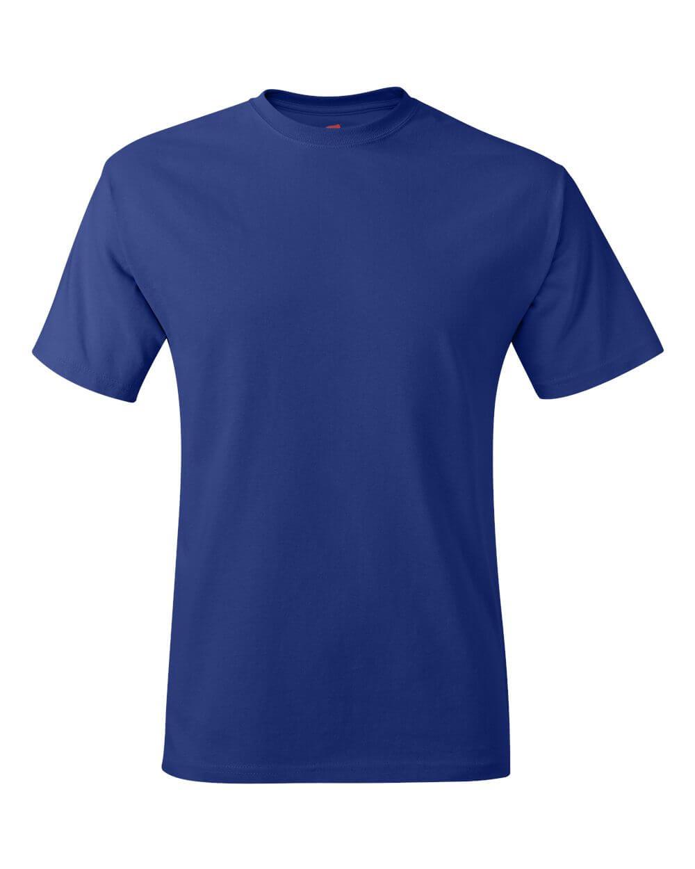 Hanes_5250_Deep_Royal Blue Custom T Shirts