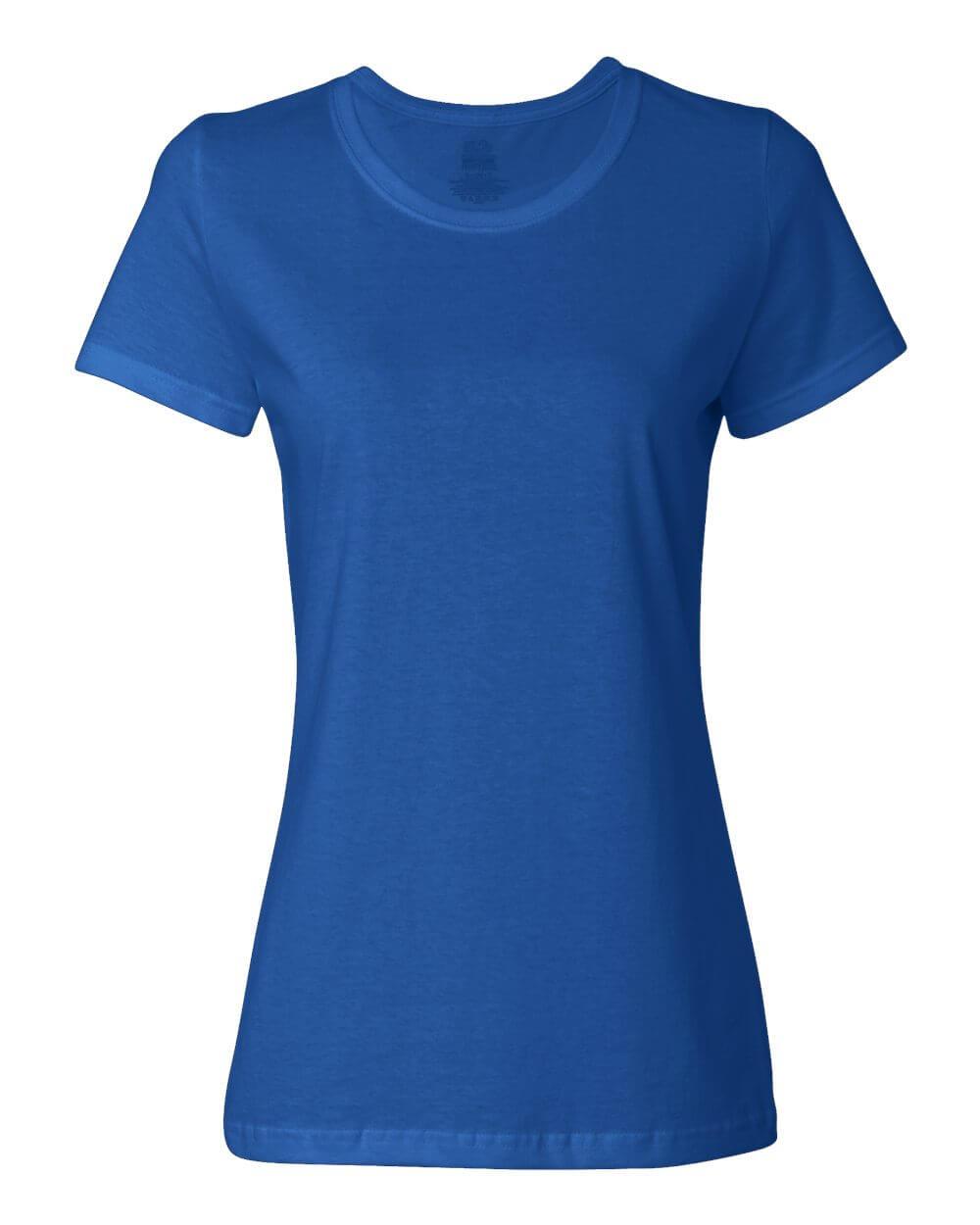 Fruit_of_the_Loom_L3930R_Royal Blue Custom T Shirts
