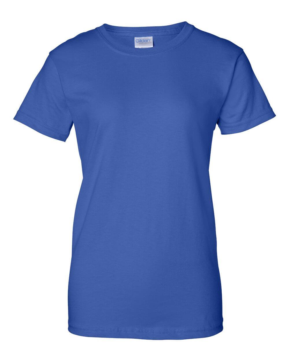 Gildan_2000L_Royal_Royal Blue Custom T Shirts