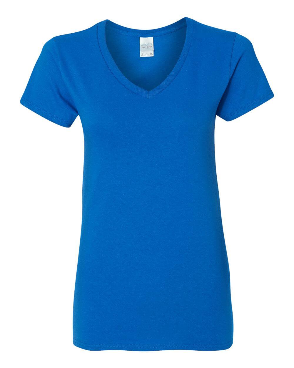 Gildan_5V00L_Royal Blue Custom T Shirts