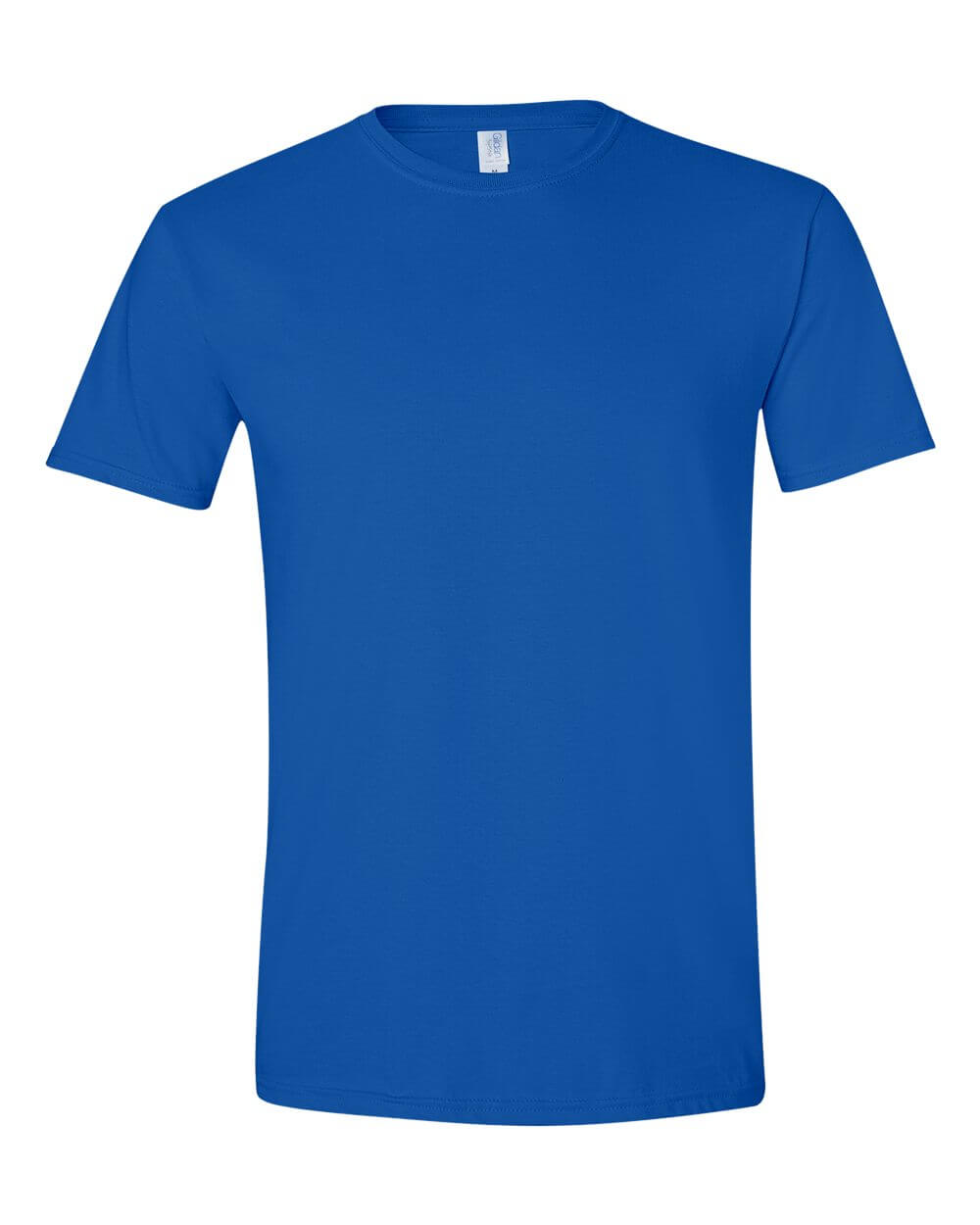 Gildan_64000Royal Blue Custom T Shirts
