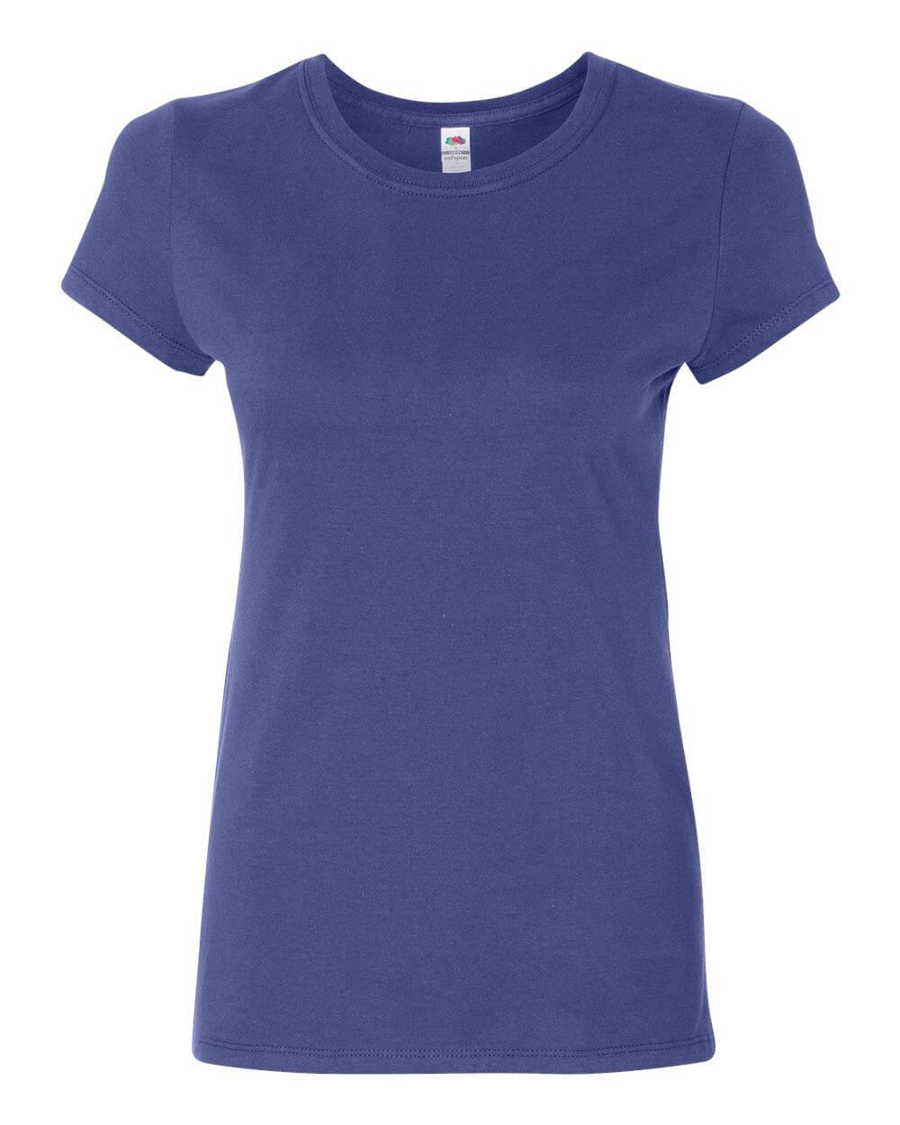 Fruit_of_the_Loom_SFJR_Royal Blue Custom T Shirts