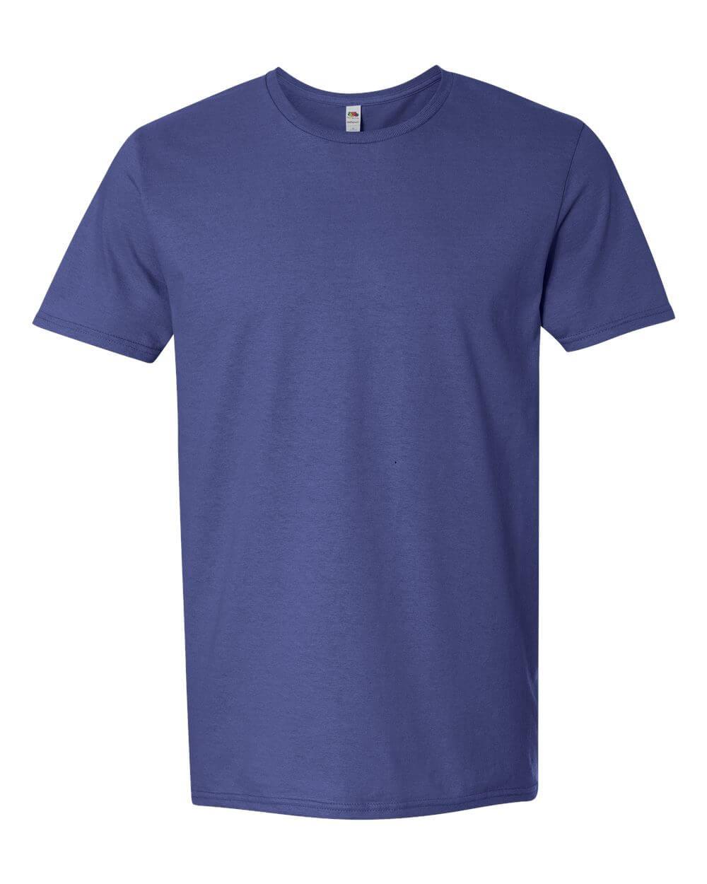Fruit_of_the_Loom_SF45R_Royal Blue Custom T Shirts