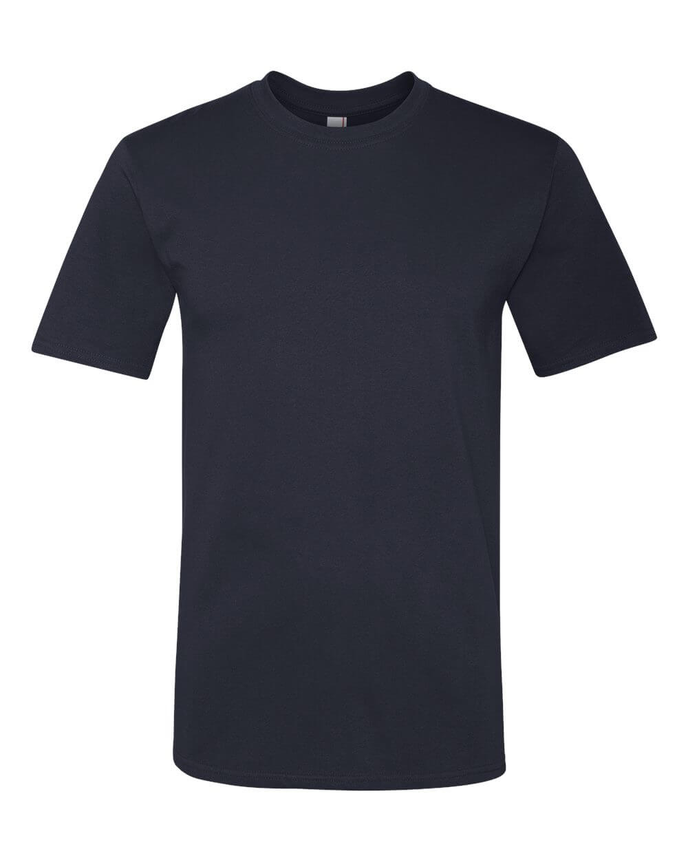 Anvil_780_Navy Blue Custom T Shirts