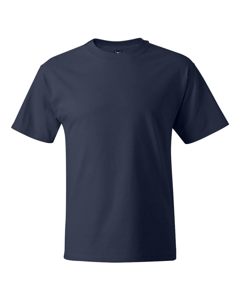 Hanes_5180_Navy Blue Custom T Shirts