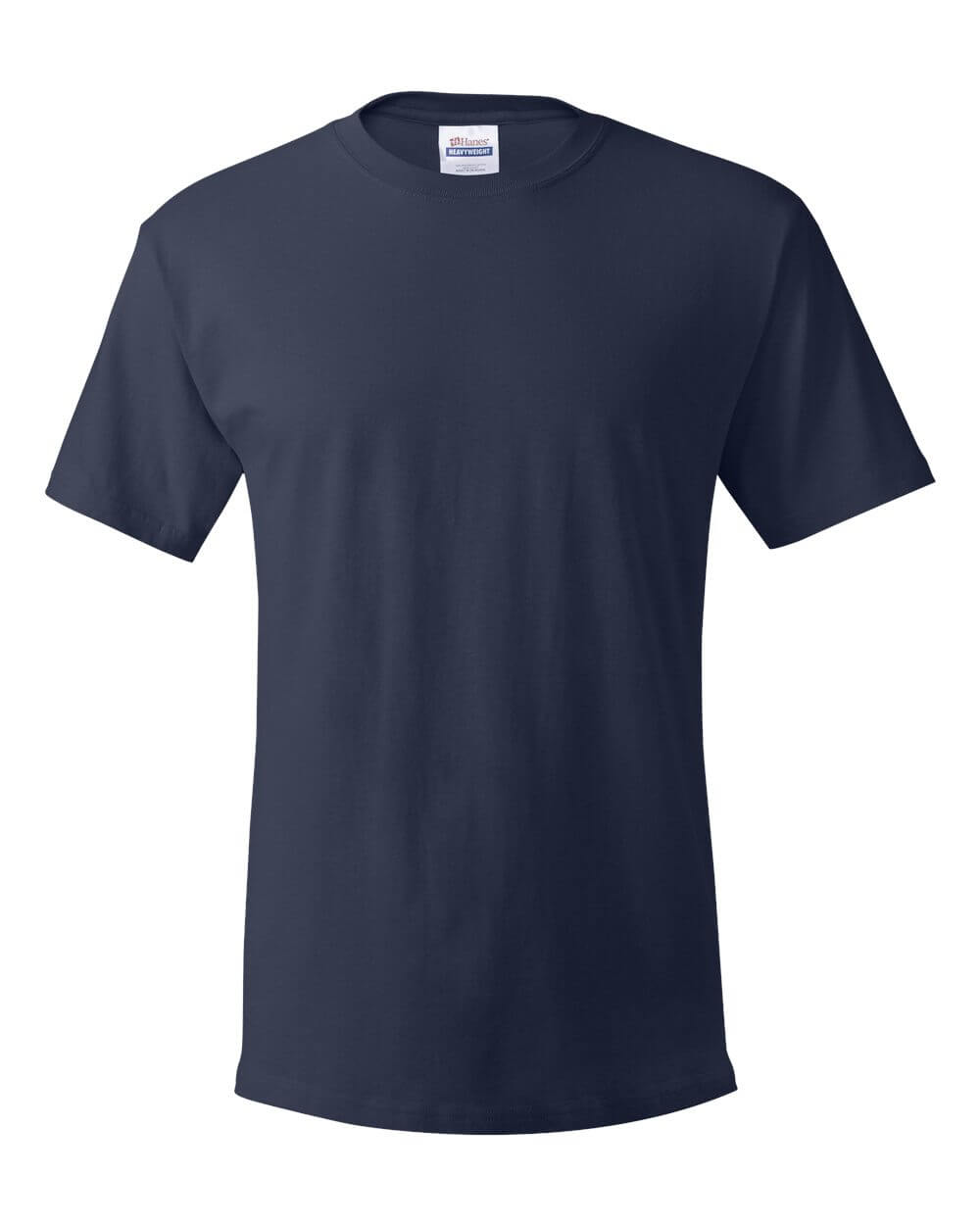 Hanes_5280_Navy Blue Custom T Shirts