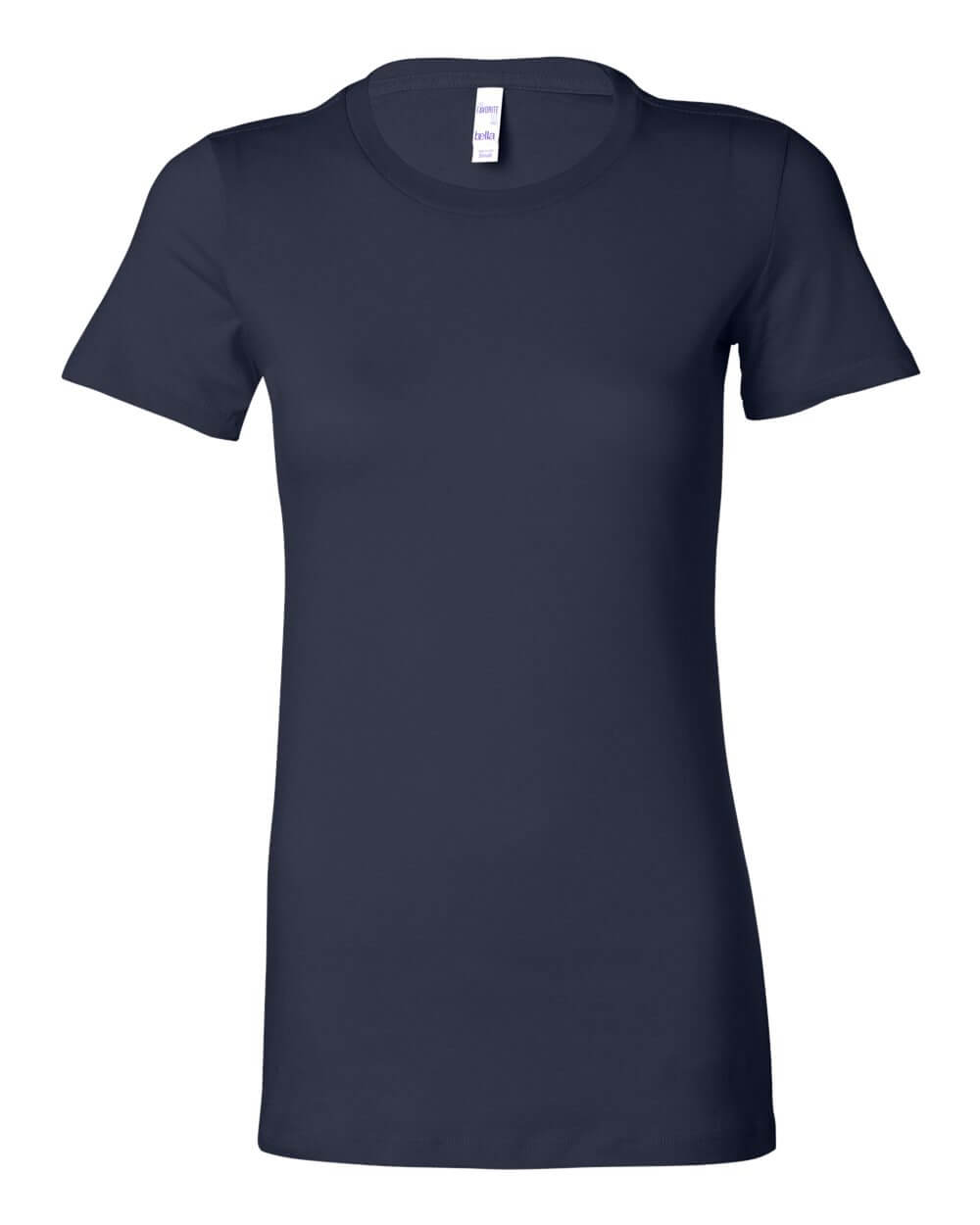 Bella__Canvas_6004_Navy Blue Custom T Shirts