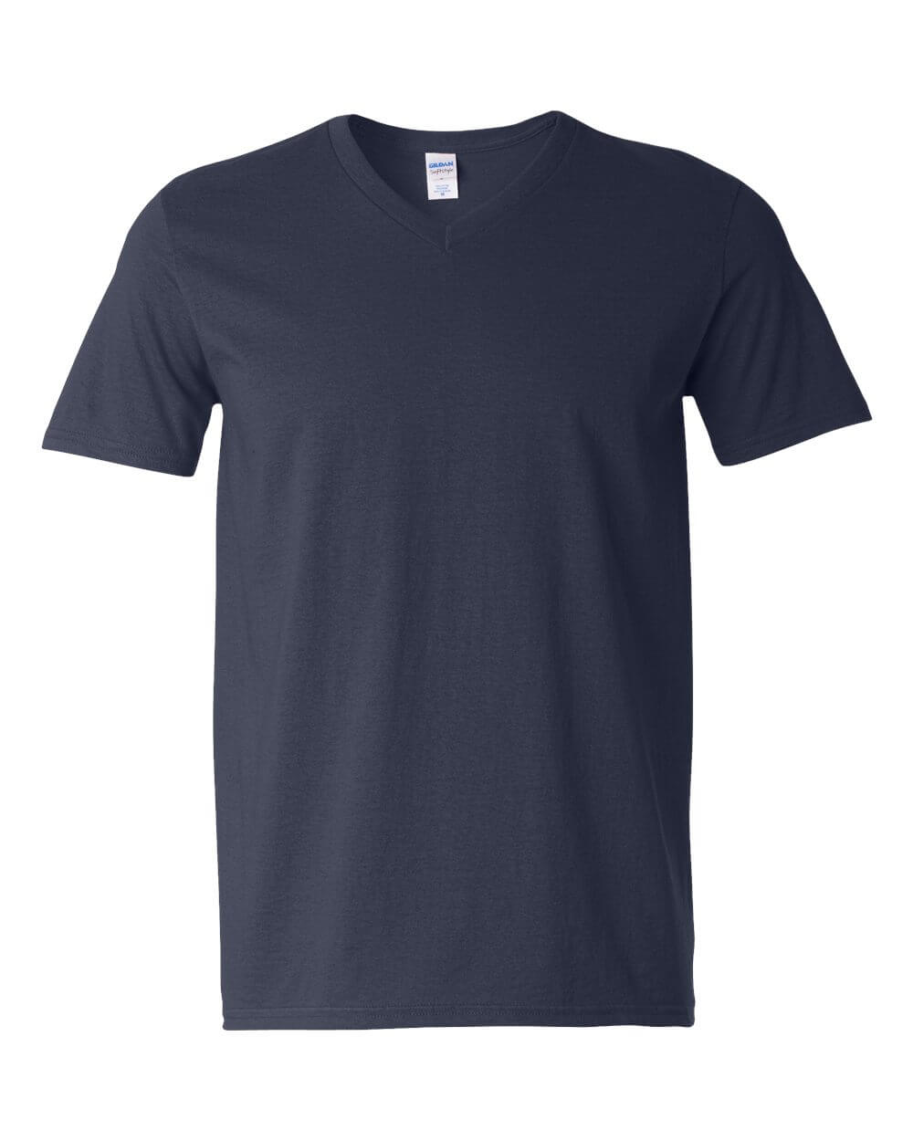 Gildan Soft Style Crew Neck Navy Blue Custom T Shirts