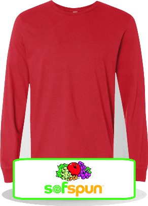 Custom-Fruit-of-the-Loom-Sofspun-Cotton-Long-Sleeve-Tees-292-406