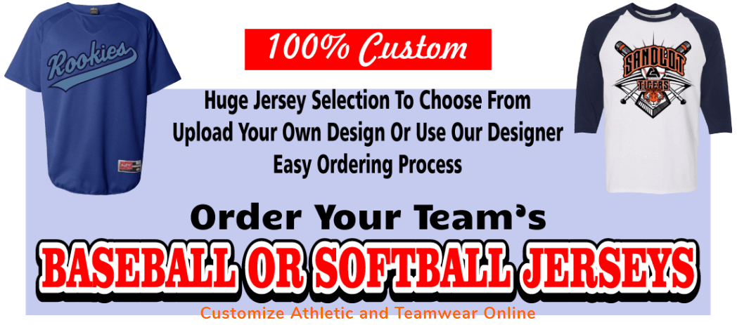 Cheap Custom Softball Uniforms